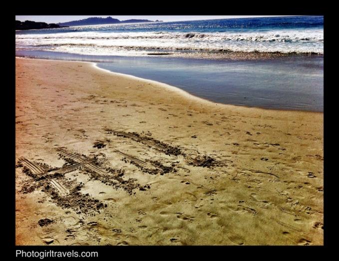 sand script