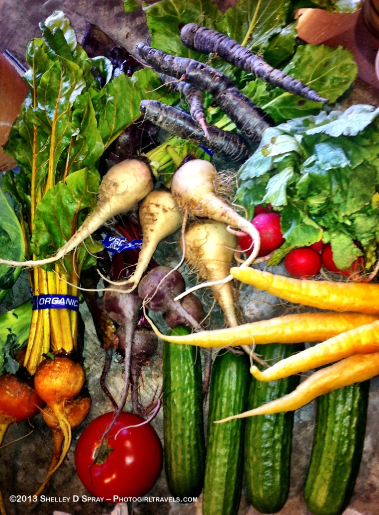 Seasonal fruits and vegetables for Saratoga and Santa Clara County