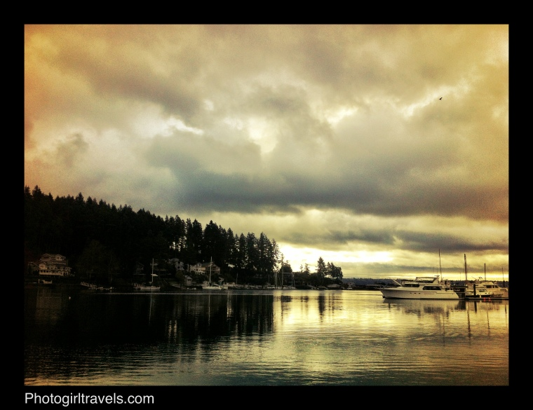 Sunrise View at Gig Harbor, Washington