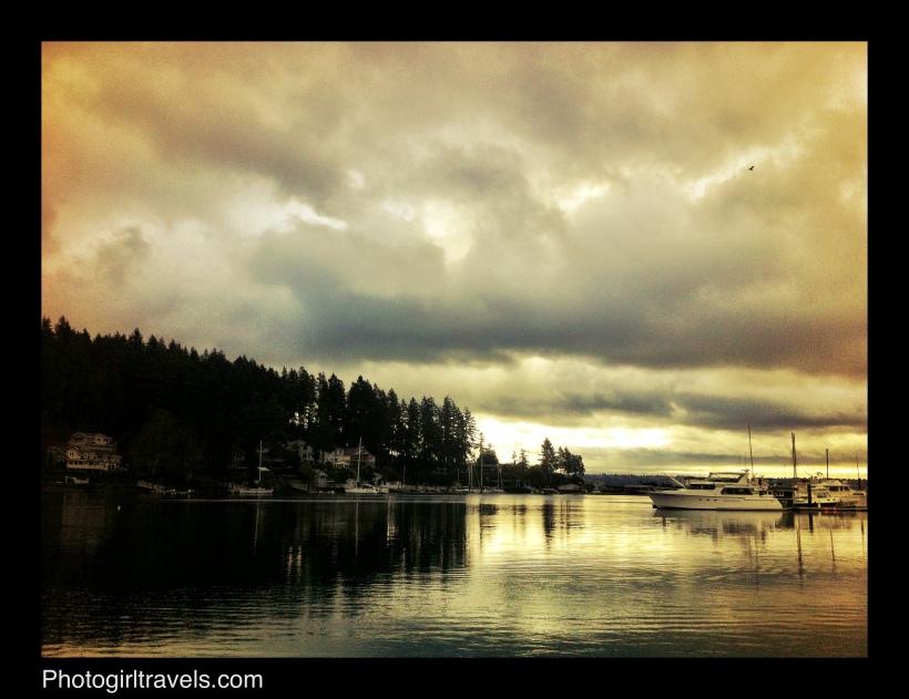 Sunrise View at Gig Harbor, Washington