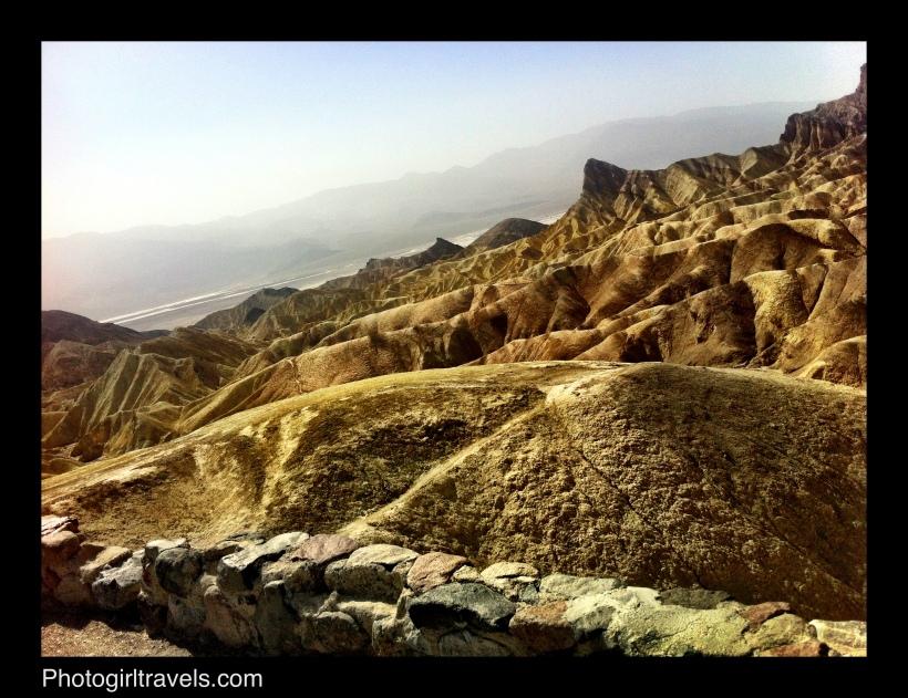 Death Valley's Zabriskie Point View