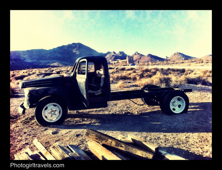 Death Valley Ghost Town - Antique Truck