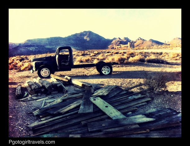 Old truck from Death Valley Ghost Town