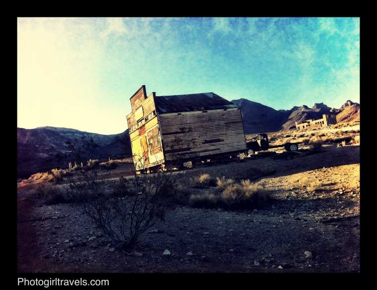 Rhyolite Ghost Town in Death Valley California