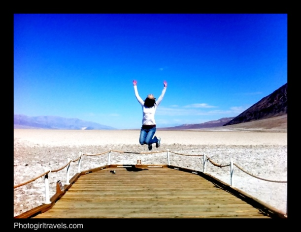 That's me jumping at Badwater!!!