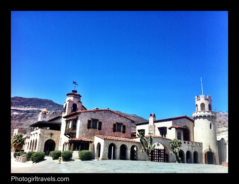 Scotty's Castle in Death Valley, California
