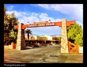 Entrance at The Ranch at Furnace Creek