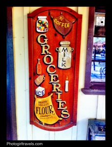 Sign in front of the General Store at The Ranch at Furnace Creek