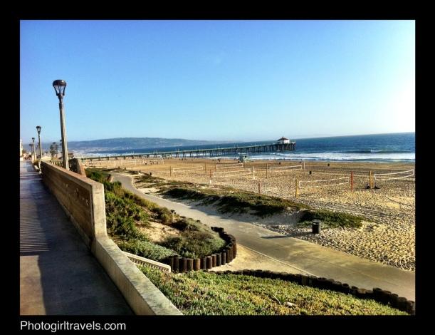 The Strand at Manhattan Beach California