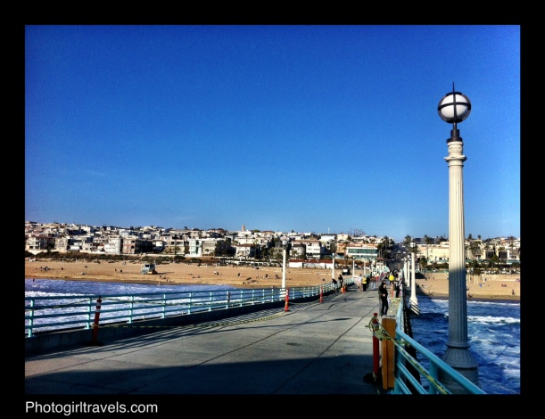 The pier at Manhattan Beach California