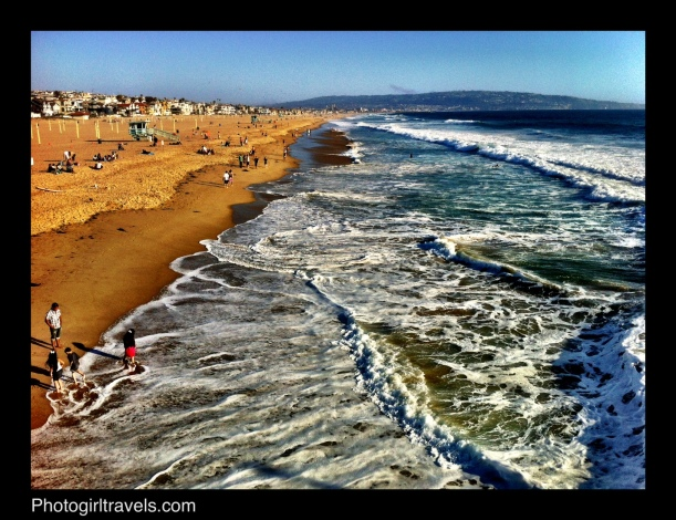 Surf ini Manhattan Beach California
