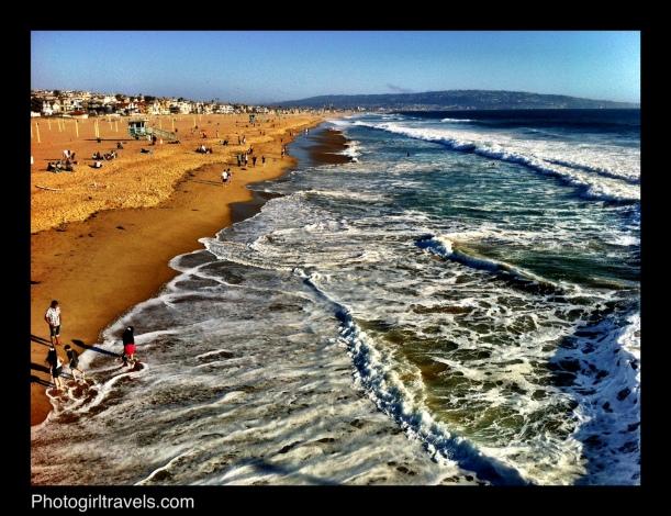 Surf ini Manhattan Beach California