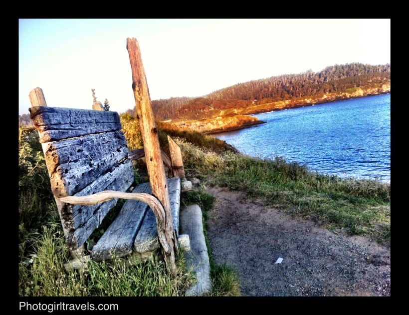 Photo Girl Travels Mendocino trails 1