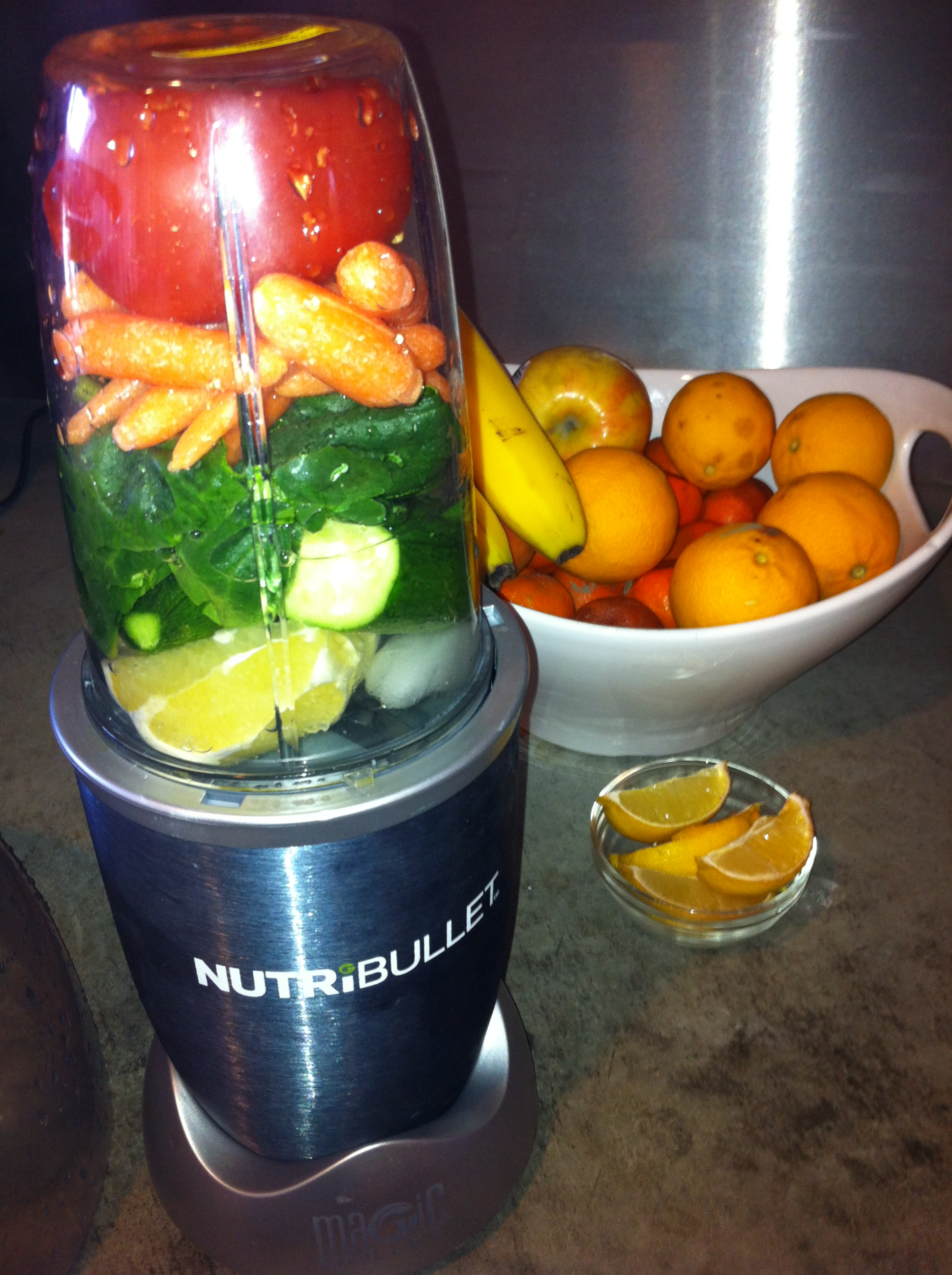 Nutribullet V8 Juice | Photo Girl Travels