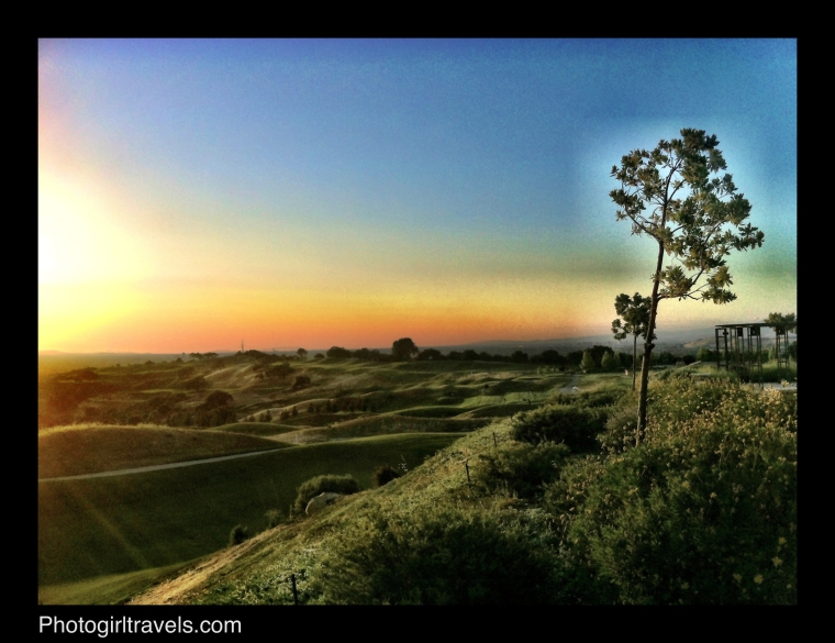 Boulder Ridge Golf Course at Sunset