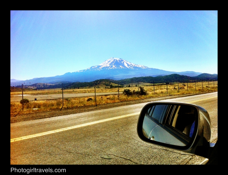 Mount Shasta Photo taken when I pulled off the highway about 50 miles away