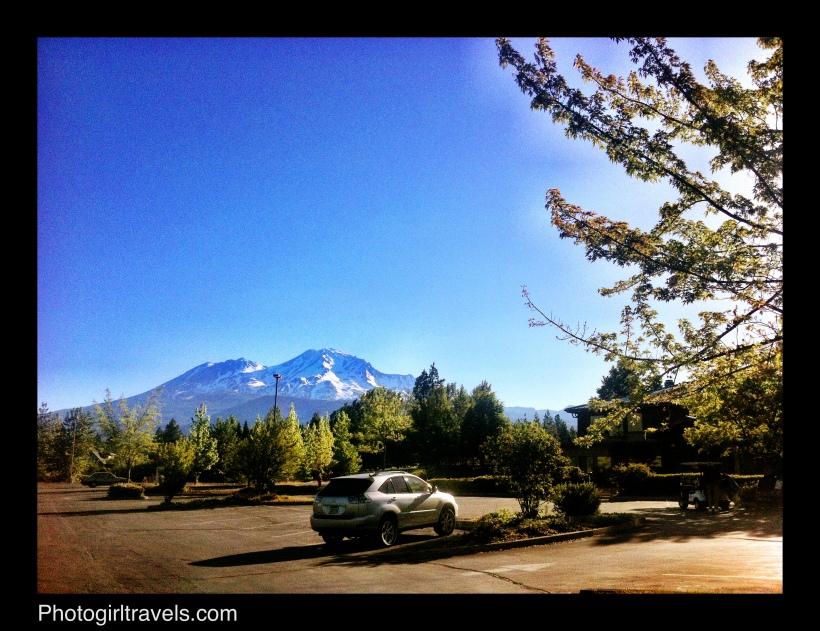 Mount Shasta Resort Check In View