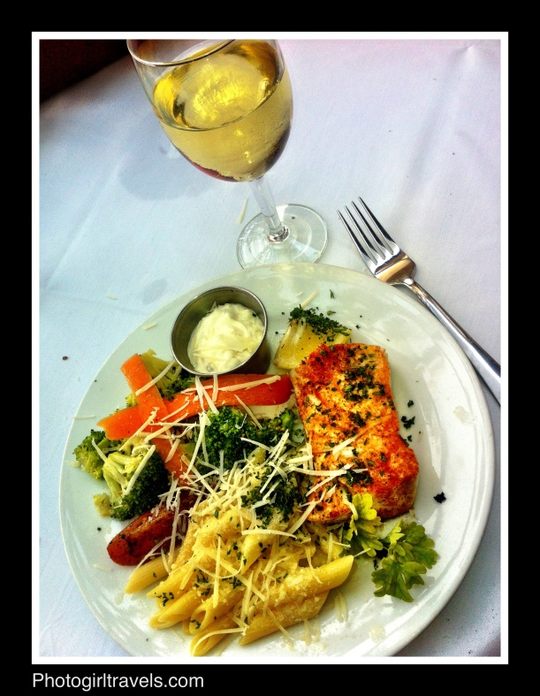 Amelia's salad - it was REALLY good!