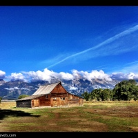 Jackson Hole - Mormon Row and the Moulton Barn