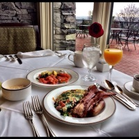 #BACON Anyone? My Breakfast at the #Biltmore